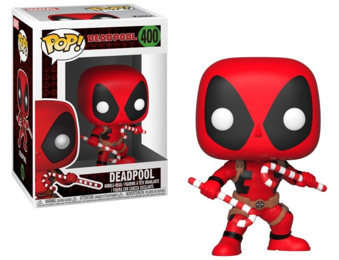 Funko Pop! Holiday Deadpool with Candy Canes