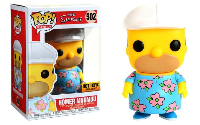 Funko Pop Homer Simpson Muumuu Figure