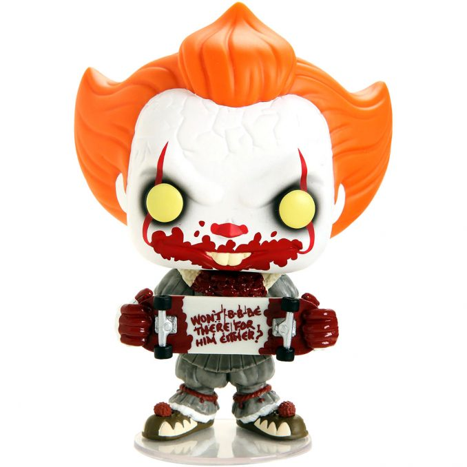 Funko Pop IT Chapter 2 Pennywise With Skateboard