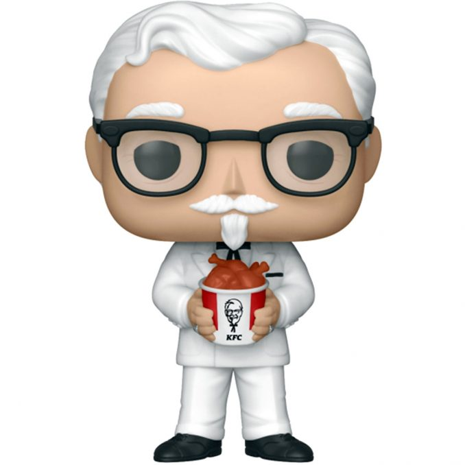 Funko Pop Icons #05 KFC Colonel Sanders Figure