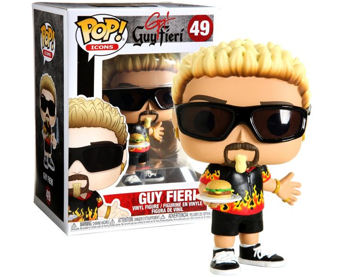 Funko Pop Icons 49 Guy Fieri Vinyl Figure