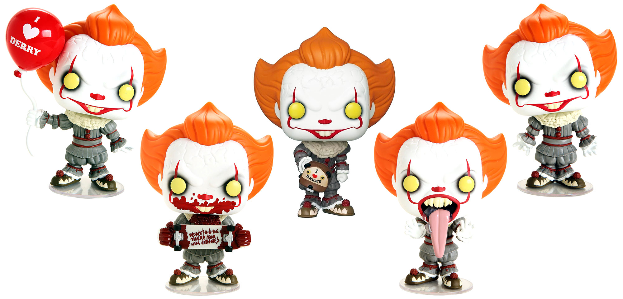 PENNYWISE WITH BEAVER HAT #779 IT CHAPTER 2 FYE EXCLUSIVE WITH CASE FUNKO POP