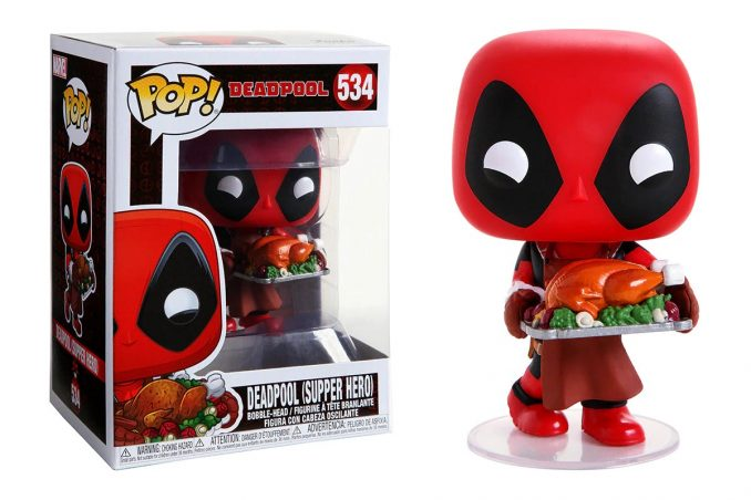 Funko Pop Marvel Holiday Deadpool Supper Hero