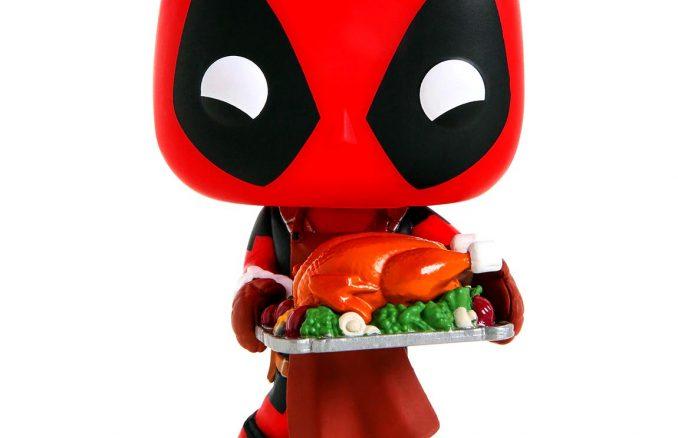 Funko Pop Marvel Holiday Deadpool Turkey