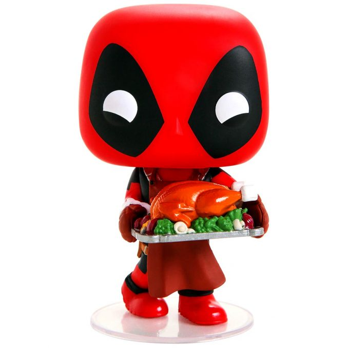Funko Pop Marvel Holiday Deadpool Turkey