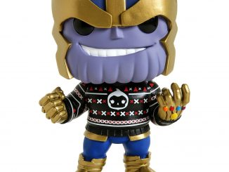Funko Pop Marvel Thanos Holiday Sweater Figure