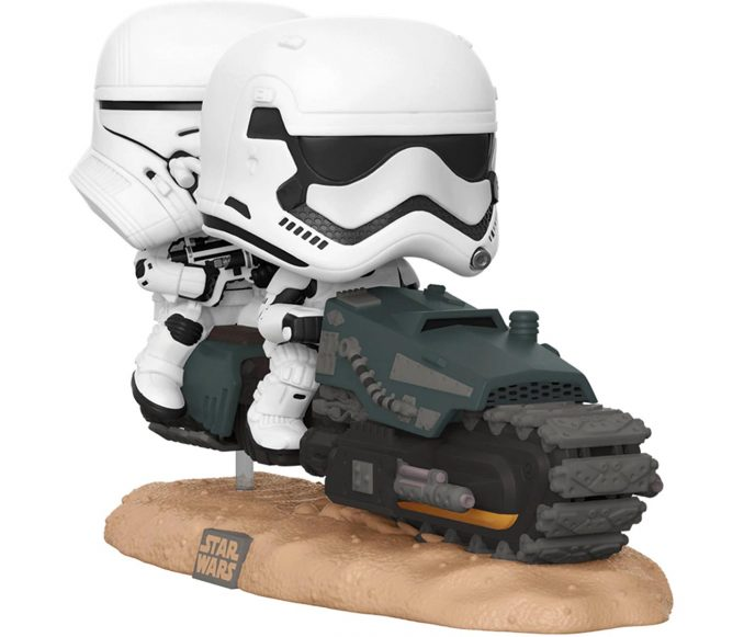 Funko Pop Movie Moments First Order Tread Speeder