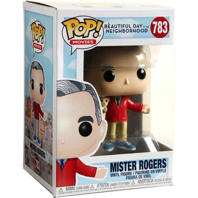 Mister Rogers POP Vinyl Figure #783 Funko Movies New!