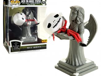 Funko Pop! Nightmare Before Christmas Jack On Angel Statue