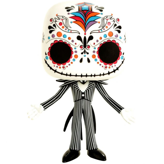 Funko Pop Nightmare Before Christmas Jack Skellington Sugar Skull Figure