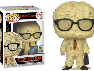 Funko Pop Office Space Sticky Note Man