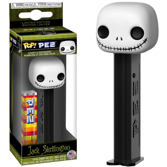 Funko Pop! PEZ The Nightmare Before Christmas Jack Skellington