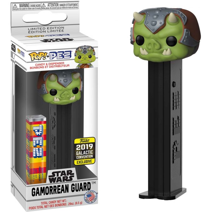 Funko Pop PEZ Star Wars Gamorrean Guard Galactic Convention Exclusive
