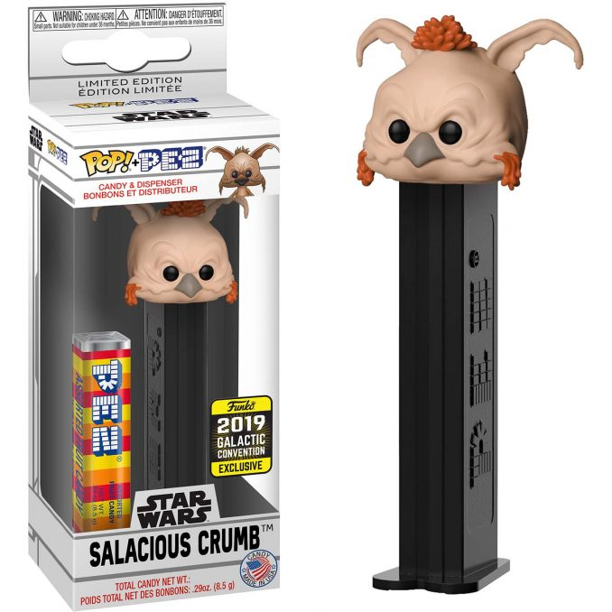 Funko Pop PEZ Star Wars Salacious Crumb Galactic Convention Exclusive
