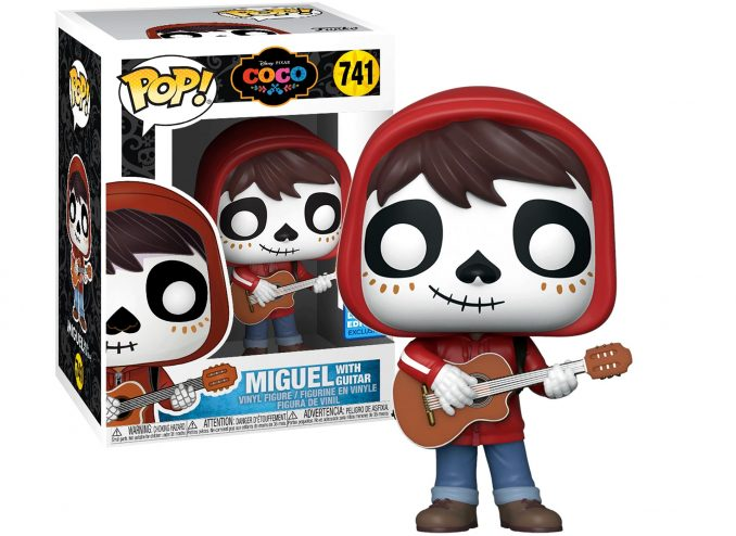 Funko Pop Pixar 741 Coco Miguel with Guitar