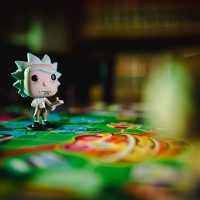 Funko Pop Rick and Morty Funkoverse Strategy Board Game