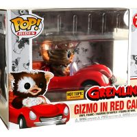 Funko Pop Rides 71 Gremlins Gizmo In Red Car