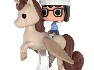 Funko Pop! Rides Bob's Burgers Espresso Trip Tina & Unicorn Vinyl Figure