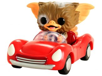 Funko Pop Rides Gremlins Gizmo In Red Car
