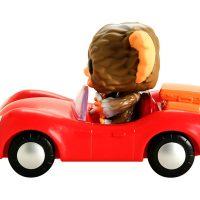 Funko Pop Rides Gremlins Gizmo Red Car Vinyl Figure
