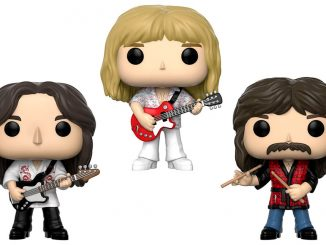 Funko Pop Rocks Rush Band Figure Set