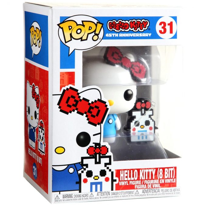 Funko Pop Sanrio 31 Hello Kitty 8 Bit Vinyl Figure