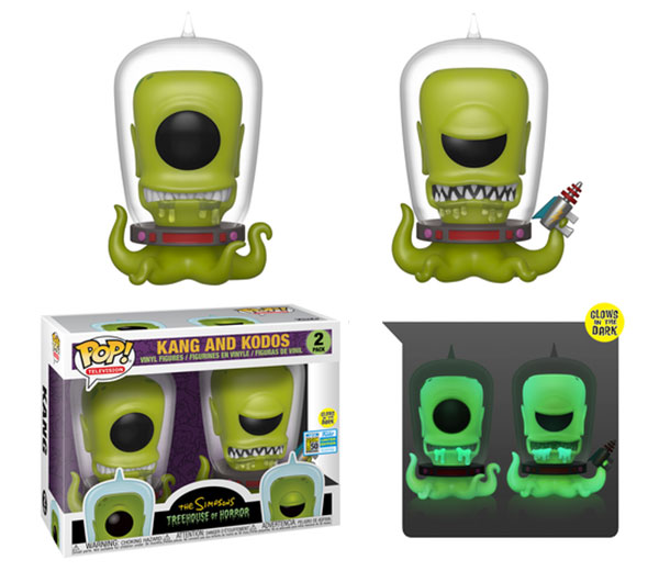 Funko Pop Simpsons Kang and Kodos