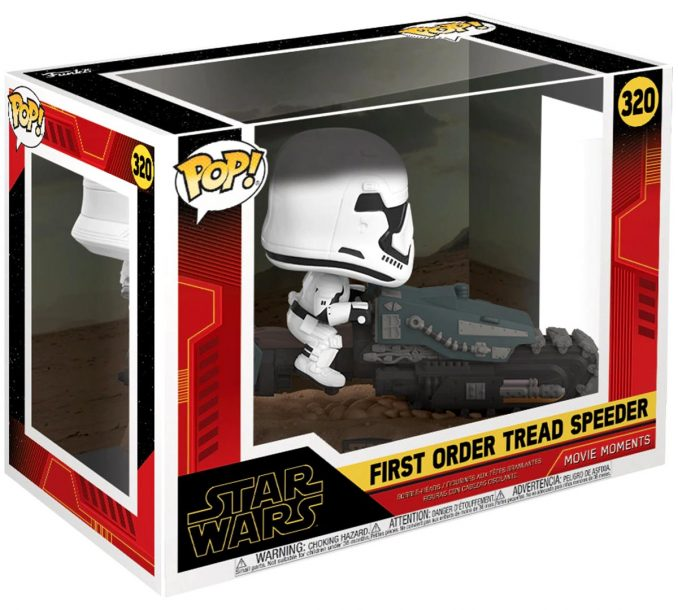 Funko Pop! Star Wars 320 First Order Tread Speeder