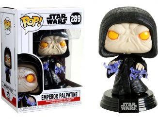 Funko Pop! Star Wars Emperor Palpatine Bobble-Head