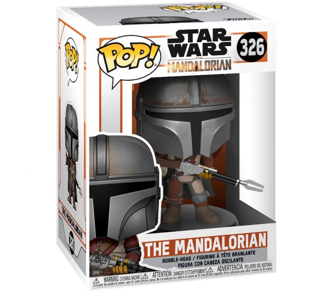 Funko Pop Star Wars The Mandalorian Figure Box