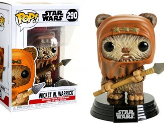 Funko Pop! Star Wars Wicket W. Warrick Ewok Figure