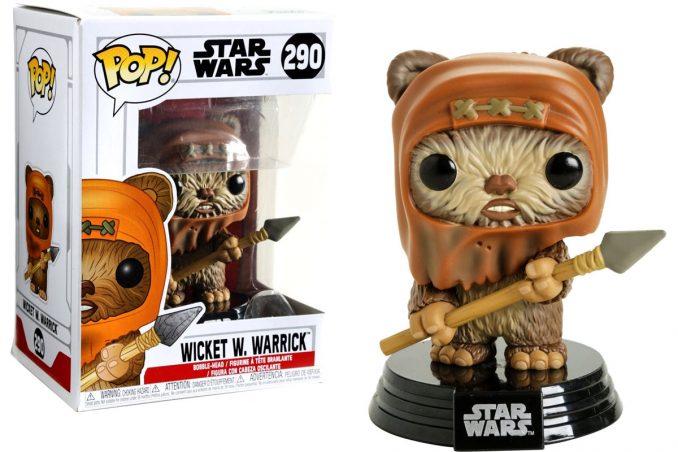 Funko Pop! Star Wars Wicket W. Warrick Ewok Figure