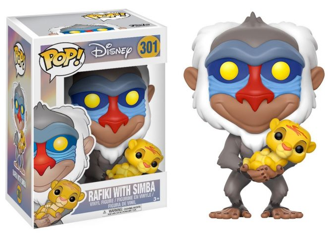 Funko Pop The Lion King Rafiki With Simba