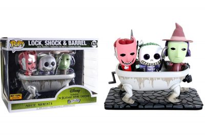 Funko Pop The Nightmare Before Christmas Lock Shock & Barrel Bathtub Figure