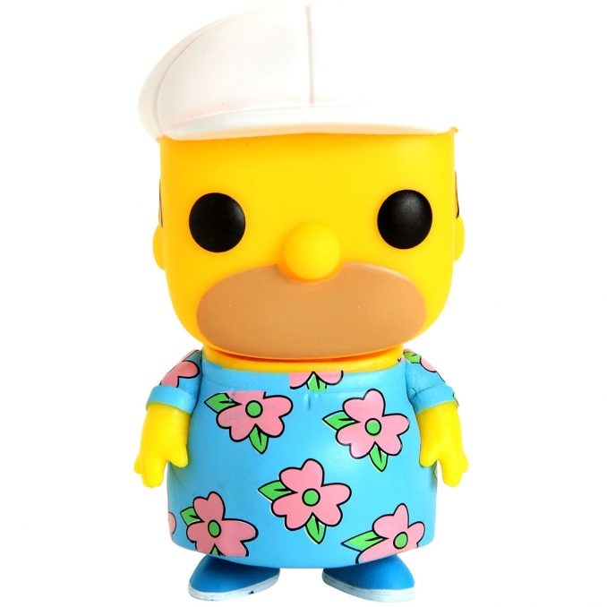 Funko Pop The Simpsons Homer Muumuu Figure