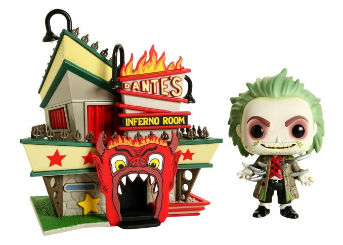 Funko Pop Town Beetlejuice With Dantes Inferno Room