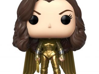 Funko Pop Wonder Woman 1984 Golden Armor Vinyl Figure