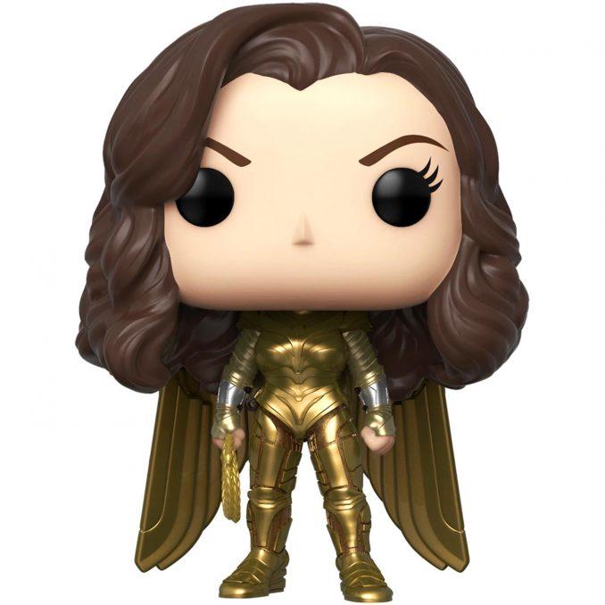 Funko Pop Wonder Woman 1984 Golden Armor Vinyl Figure