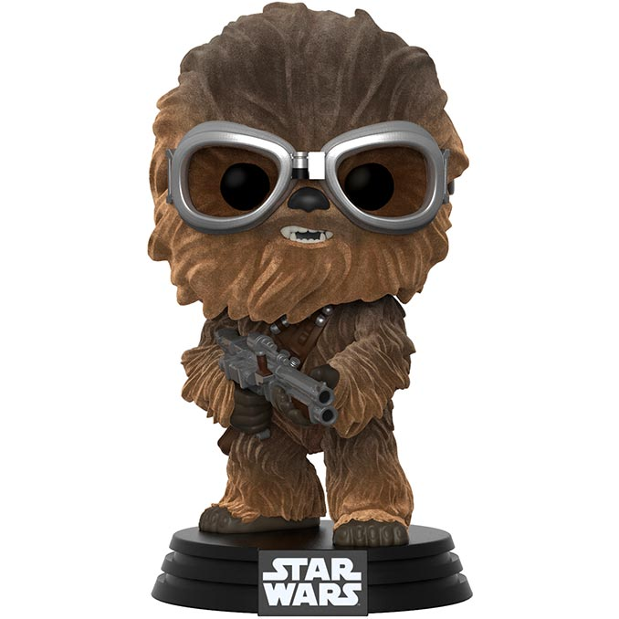 Funko Solo A Star Wars Story Pop Chewbacca Flocked