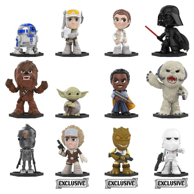 Funko Star Wars The Empire Strikes Back Mystery Minis Blind Box Vinyl Figures