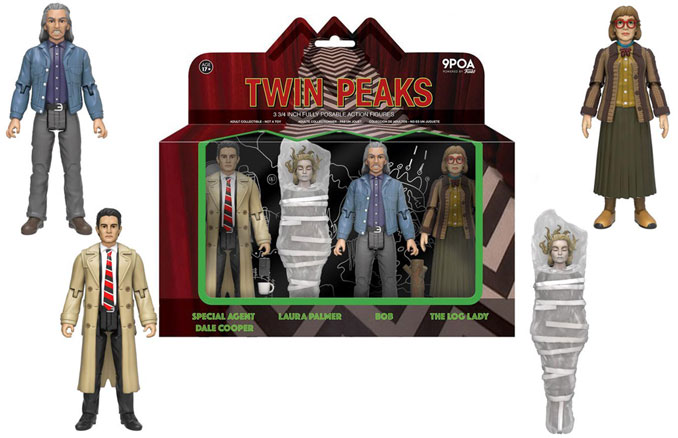 Funko Twin Peaks Action Figure 4-Pack