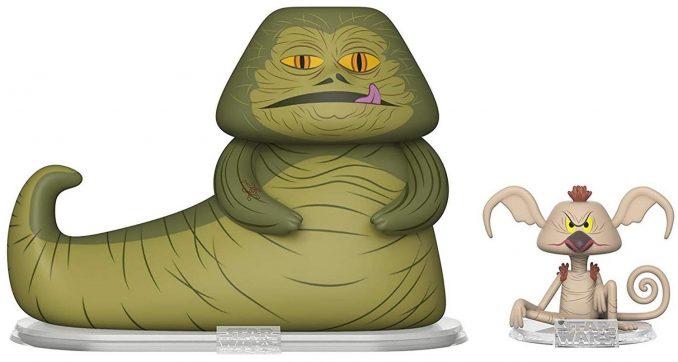 Funko Vynl Jabba The Hutt & Salacious Crumb