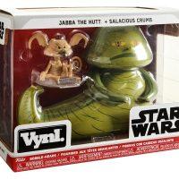 Funko Vynl Jabba The Hutt & Salacious Crumb Figures Box