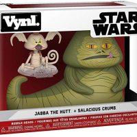Funko Vynl Star Wars Jabba The Hutt & Salacious Crumb