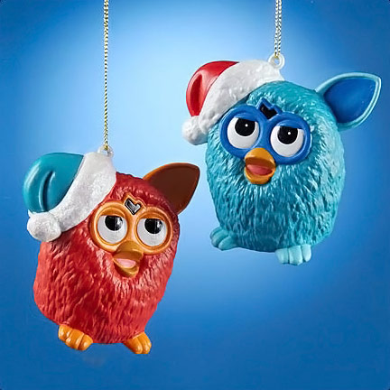 Furby Ornament Set