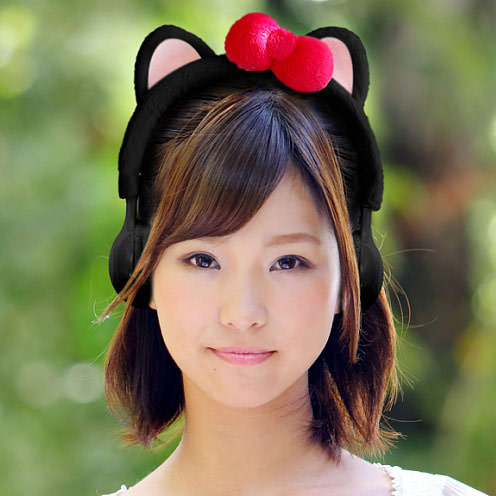 Furry Kitty Plush Headphones