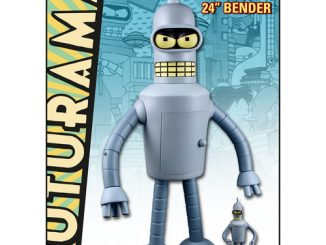 Futurama Bender Shogun Warriors 24 Inch Vinyl Figure