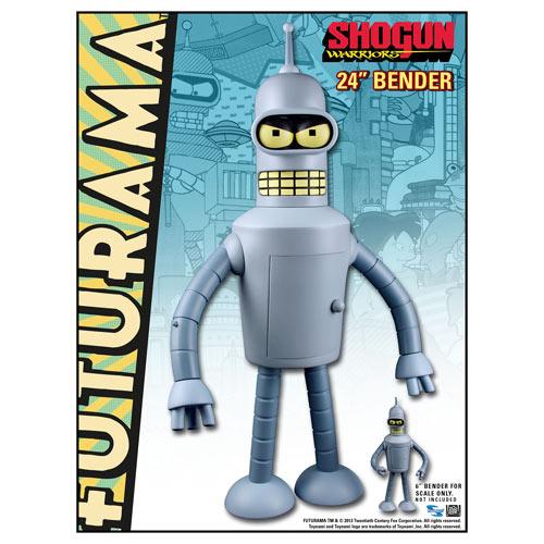 Futurama Bender Shogun Warriors 24 Inch Vinyl Figure