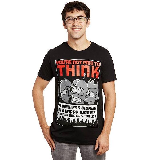 Futurama Mindless Worker T-Shirt