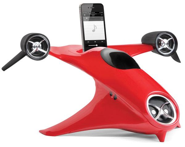 Futurists Hand Activated iPhone Speaker